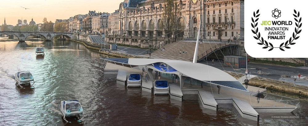 Sicomin Supports Décision Sa With Bio Resins And Composite Materials For Seabubbles Flying Water Taxis