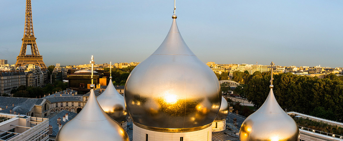 Sicomin supplies complete composite materials package for gilded domes of new Russian Orthodox Cathedral in Paris